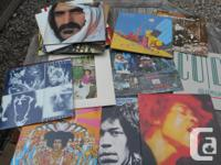 Incredible lot of 135 clean rock LPs and 67 x 45's!