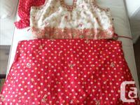Lehenga choli for sale. M size. Can be altered. Used