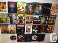 For sale is a 28 film dvd collection of some of the