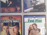 Individual DVD's $3.00 each: Hart's War / Foul Play /