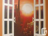 I paint murals, indoor or outdoor, houses, walls, vans,
