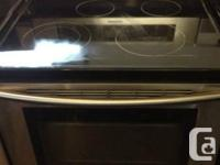 TOP OF THE LINE SAMSUNG INDUCTION COOK TOP OVEN IN LIKE