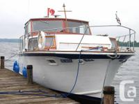 This seaworthy 36' elegance was built to cruise,