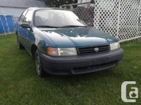 I am offering my 92 tercel, with e-test and bunches of