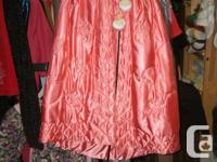 Pink Infant Baby Cape with Hood, a New born Baby Girl