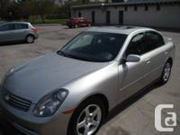 2003 Infiniti G35(4 automated doors, 6 cylinder 3.5