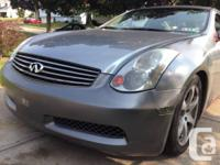 I have my 2004 Infiniti G35 for sell its has 124 Miles