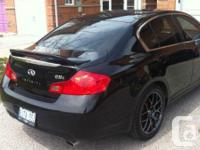Make. Infiniti. Model. G35. Year. 2003. Colour. BLACK.
