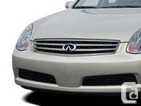 Mint Condition Infiniti Grill. Brand New Dealer Cost is