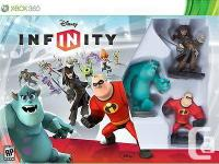Adult had, Xbox360 Disney Infinity starter pack, it