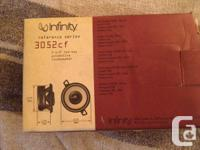 """Used""  Infinity Reference 3052cf Car Speakers 3 1/2"""