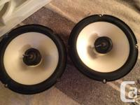"""Used""in box Infinity Reference 652i Car Speakers 6"