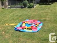 Little Tikes Inflatable Bouncy Castle in great shape.