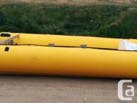 "Model: BobCat Type: Inflatable Size: 13'9"" x 6'2"""