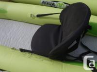 Aqua Marina 10' Inflatable Kayak, single, NEW Reg price
