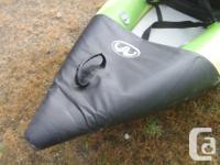 Aqua Marina 10' Inflatable Kayak, single, NEW High