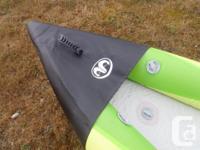 "Aqua Marina 13'1"" Inflatable Kayak, double, NEW High"