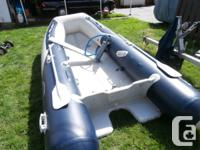 Up for sale is aWEST MARINE HP-V 350 INFLATABLE. This