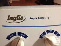 INGLIS WASHER Super Capacity Heavy Duty-Large loads
