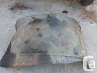 Inner fenders for a 1973 - 1980 Chev/CMC pickup truck.