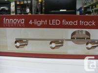 Innova Lighting 4 Light LED Fixed Track for sale  British Columbia