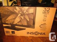 Brand new Insignia LED TV Model # NS-32 D20 SNA14 720p