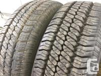 These tires are in Excellent shape They have 90% tread