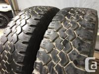These tires are in good shape and very hard to find