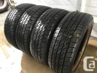 These tires are in good shape They have 80% tread ,