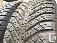 These are very good Quality tires in great shape.