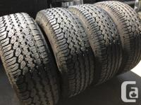 These are very nice tires and are in good shape They