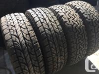 These tires are very hard to find They have excellent