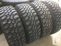 These tires are in good shape and have lots of tread