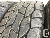 These tires were traded in , they are the 6ply Truck