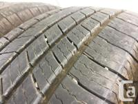 These tires are in excellent shape , they were traded