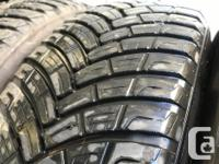 These tires are in good shape , They are an all weather