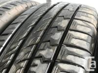 These are very good Quality tires in great shape. 99%