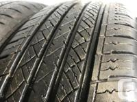 These tires are in good shape ,great for dodge Caravan