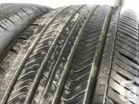 These tires are in great shape They have 70 to 80%