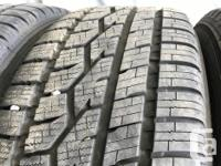 These are very good Quality tires in great shape. 95%