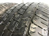 These tires are in nice shape They have 70% tread