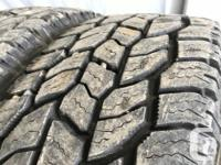 These are very good Quality tires in great shape. 80%