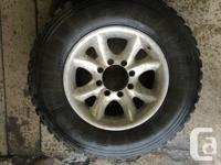 These tires are in good shape 2 tires have 56% tread 1