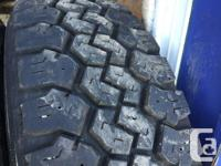 these tires are in excellent shape , 6 ply for carrying