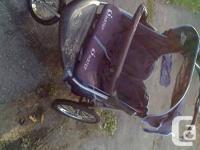 Nice instep double stroller , asking for $75.00 obo .