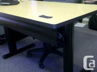 8 Bretford training tables (all matching) with the