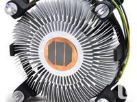 Intel Socket 775 Copper Core/Aluminum CPU Heat Sink &