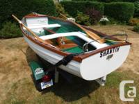 The International 12 (12 foot) is a classic sailing