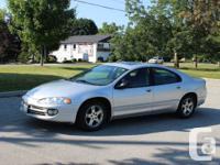 2004 Chrysler Intrepid SE. Silver exterior, black