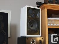 Below is a pair of rare Introduction/ 2 speakers in